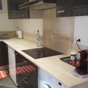Piano lavoro cucina in marmo Pilgran
