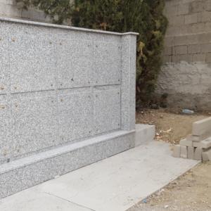 Lastre in granito per rivestimento loculi - Pilgran