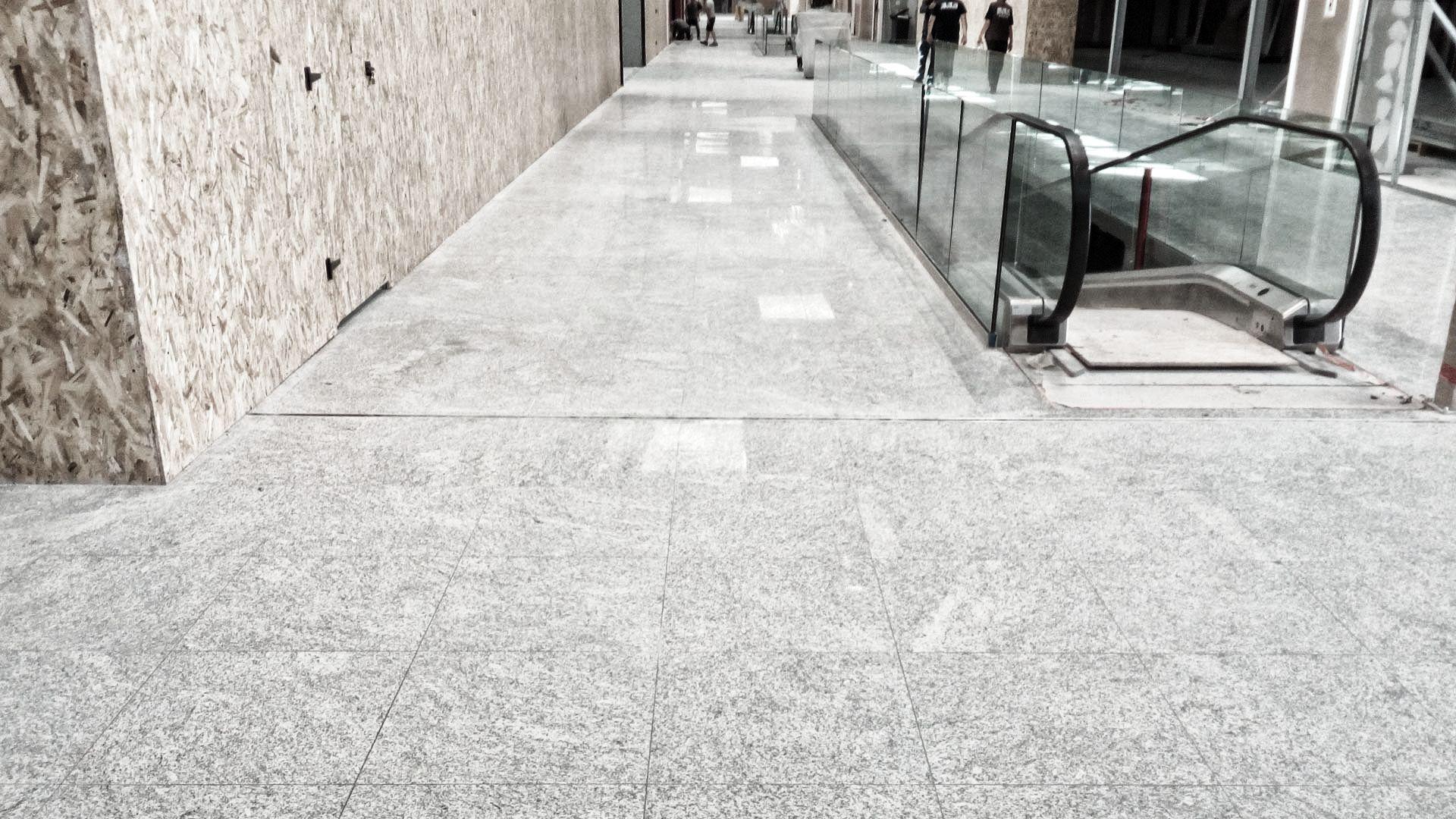 Lucidatura pavimenti in marmo sistema klindex - Pilgran