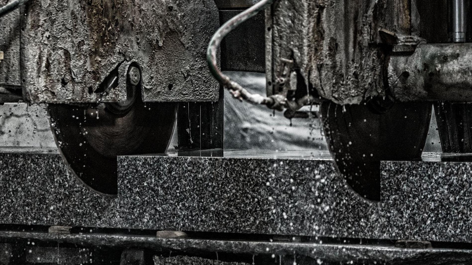 Segheria industriale granito - PIL GRAN