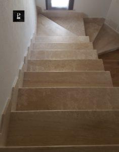 Scala di marmo per interno - Pilgran